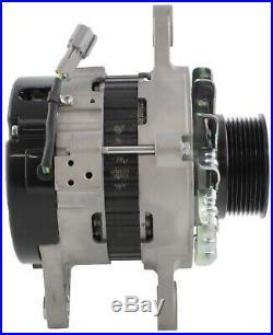 New Alternator for John Deere 220D W Isuzu 4HK1X 0000 Excavator 8-97375-017-0