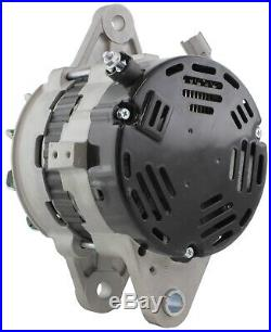 New Alternator replaces John Deere Excavator 190D W Isuzu 4HK1X 24V 0-35000-4558