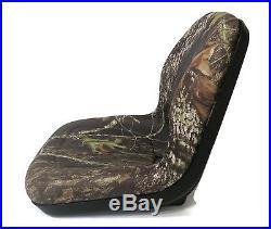 New Camo HIGH BACK SEAT for John Deere Excavator 890 & Forklift Fork Truck 488E