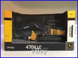 New John Deere 470G LC Excavator 1/50 Scale ERTL Prestige Die-Cast SEE DESCRIPTI