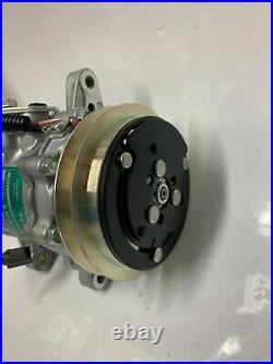 New NOS Sanden Compressor 7189 for John Deere Komatsu & Hitachi Excavators