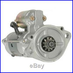 New Oem Starter Motor Fits John Deere Excavator 75d 85d Isuzu 4le2x M8t81571