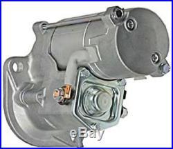 New Starter For JOHN DEERE EXCAVATOR 27C 35C 50C ISUZU 8971128650 8971128651