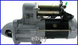 New Starter John Deere Excavator 135C RTS Isuzu 4BD1T 0230002100 0-23000-2100