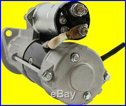 New Starter for CASE, HITACHI, JCB EXCAVATORS, John Deere 190D 220D 190DW 220DW