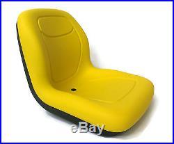 New Yellow HIGH BACK SEAT John Deere Excavator 890 & Forklift Fork Truck 488E
