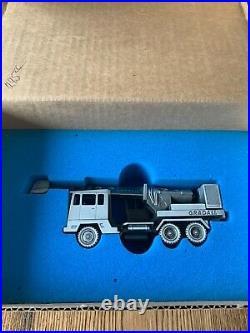 New in box Precision Pewter Gradall G880C Wheel Excavator Truck