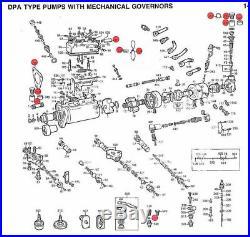 Overhaul Diesel Injection Pump Rebuild Kit Delphi Tractor Cav Oem Lucas
