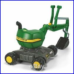 Rolly Toys John Deere 360 Degree Ride On Construction Excavator Shovel Kids Toy