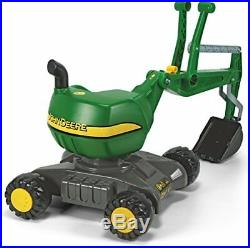 Rolly toys John Deere Ride-On 360-Degree Excavator Shovel/Digger, Youth Ages 3+