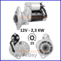 Starter Anlasser YANMAR 4TN78 4TN82 Takeuchi John Deere 129400-77010 S13-132 Neu