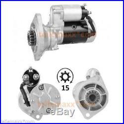 Starter Anlasser YANMAR 4TN78 4TN82 Takeuchi John Deere 129400-77011 S13-332 Neu