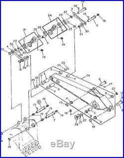 T144757 John Deere Pin 160LC 160CLC 200LC 200CLC 590D 595D 690DLC 690ELC
