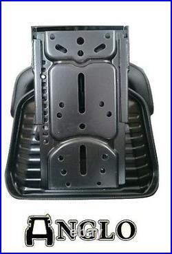 TRACTOR Suspension Seat Ford CASE IH International MF John Deere BLACK Digger