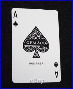 UNUSUAL VINTAGE JOHN DEERE DAVENPORT WORKS EXCAVATOR PLAYING CARDS