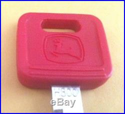 Used John Deere Excavator Key AT194969 H800 Genuine with OEM Logo