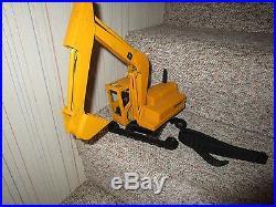 VINTAGE LARGE John Deere Excavator Ertl Construction Toy 1960S EARLY 1970S RARE