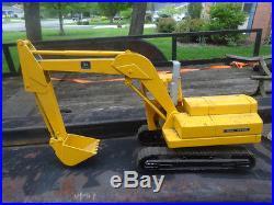 Vintage Ertl John Deere Excavator Die Cast 1/16 Scale HTF 505 great cond See