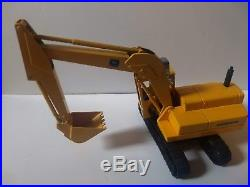 Vintage Ertl John Deere Excavator in Black Box 1/16 Scale Diecast Great Shape