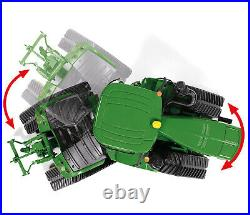 Wiking 077849 John Deere 9620RX Tractor With Tracked Excavators 13 2 New