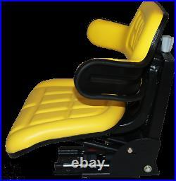 Yellow Trac Seats Tractor Suspension Seat Fits John Deere 1020 1530 2020 2030